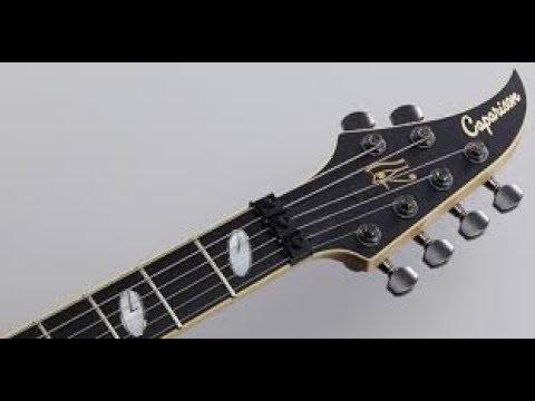 Обзор гитары Caparison Horus - M3 / Review Guitar Caparison