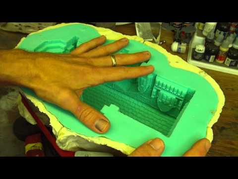 TerranScapes - Cavity Pour Mold Making Overview