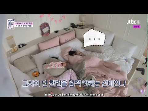 [ENG] 180615 Sunmi x Seulgi Struggling to Wake Up - Secret Unnie EP07 Clips