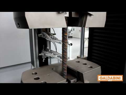 Expert in material testing   tensile test on Rebar
