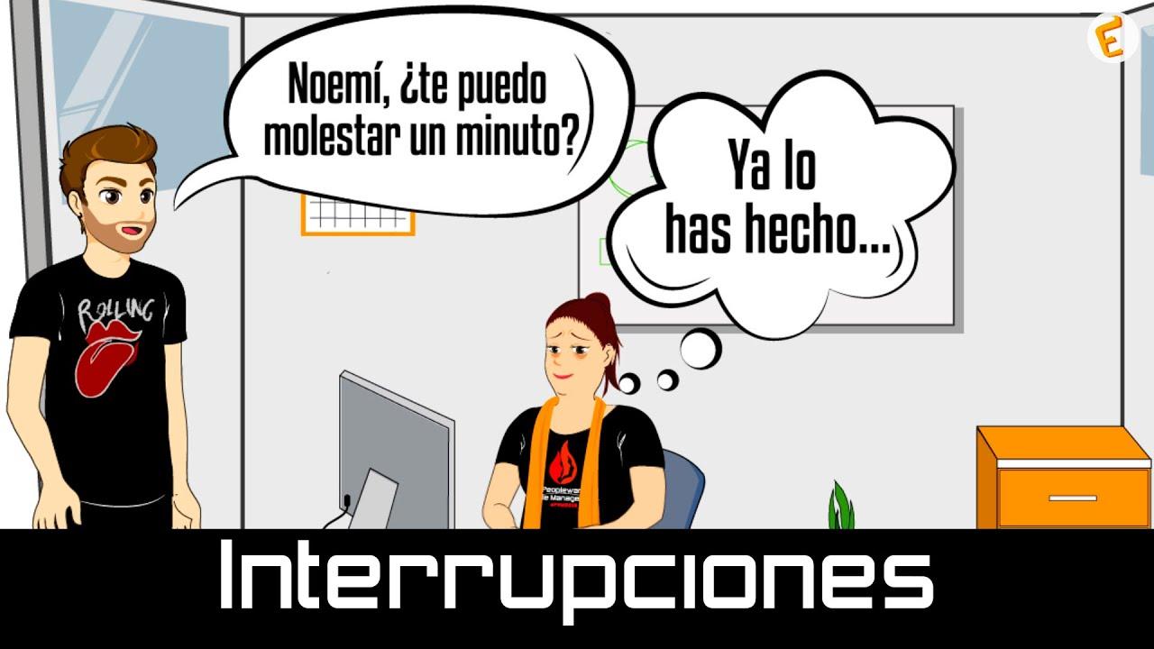 Cómo evitar interrupciones en tu puesto de trabajo (URJCx) - YouTube