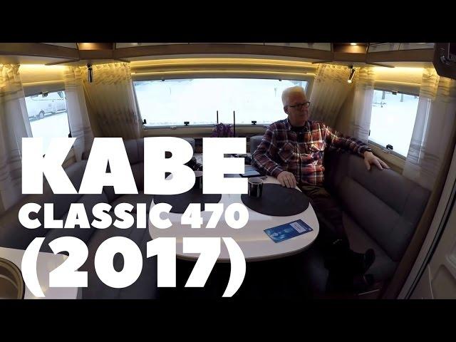 Kabe Classic 470 (2017 model). Peer Neslein fortæller om hans tur til Polarcirklen.