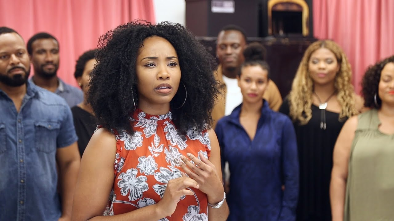 Watch Adrianna Hicks & the Cast of THE COLOR PURPLE Tour Make a Harmony in Rehearsal