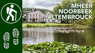 Wandelen Mheer - Noorbeek (Zuid-Limburg)  - Altembrouck (B)     WGZL 232