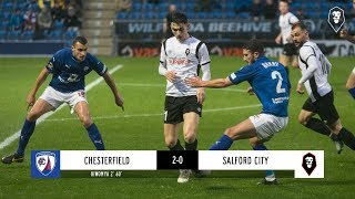 Chesterfield 2-0 Salford City | The National League 08/12/18
