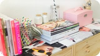 DIY Ripped Magazines Desktop [ROOM IDEAS] Thumbnail