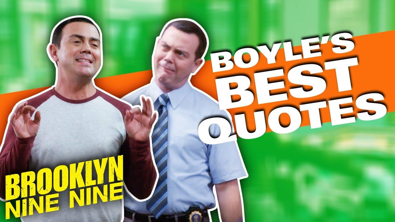 Best Charles Boyle Quotes | TOP 10 | Brooklyn Nine-Nine