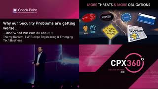 Cyber Security Trends: Thierry Karsenti - CPX 360 2018