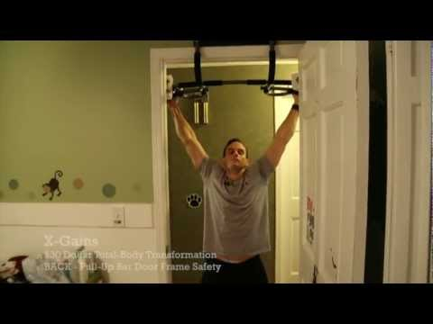 X Gains | Pull Up Bar Door Frame Safety   YouTube