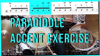 PARADIDDLE ACCENT EXERCISE | YOU NEED TO TRY THIS!