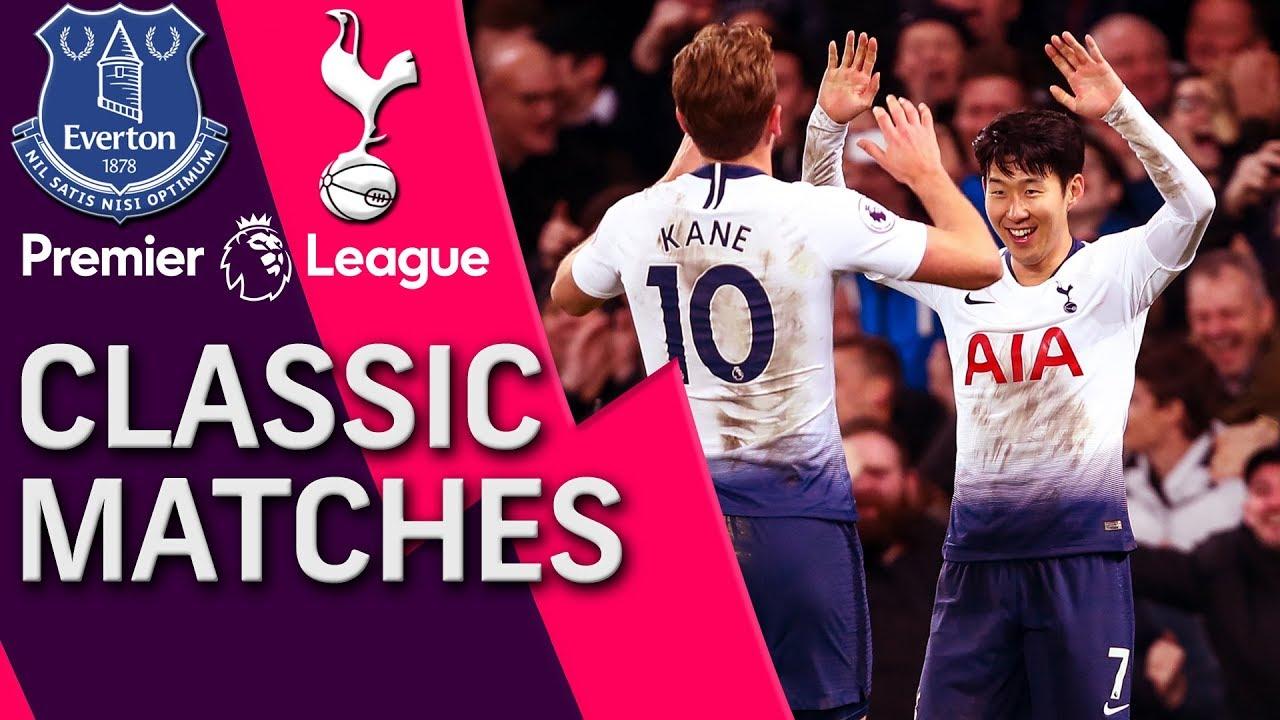 Everton v. Tottenham   PREMIER LEAGUE CLASSIC MATCH   12/23/18   NBC Sports