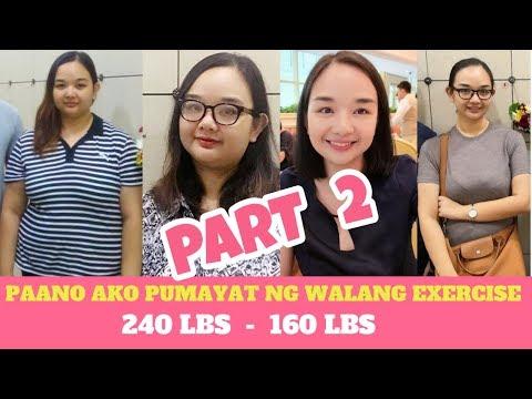 part-2---paano-pumayat-ng-walang-exercise-(-from-240-lbs---160-lbs)-|-gre-taba