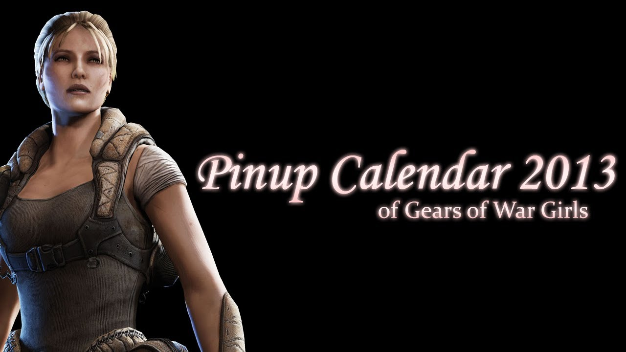 Pinup Calendar Of The GOW Girls