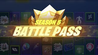 REACTING TO THE * NEW * SEASON 5 BATTLE PASS ( Fortnite Battle Royal ) MUST WATCH !!!
