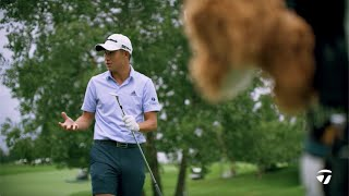 How Collin Morikawa Warms up for a Round on the PGA Tour