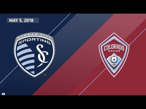 HIGHLIGHTS: Sporting Kansas City vs. Colorado Rapids   May 5, 2018