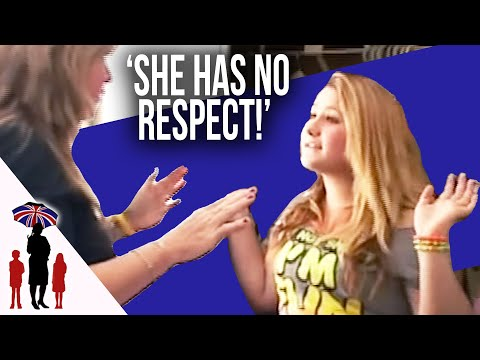 16Yr Girl Old Disrepects Mom & Dad, Then Gives Into New Parents | Supernanny