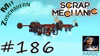 "Scrap Mechanic ""Das Fahrzeug an der Decke"" #186 🐶 DEUTSCH"