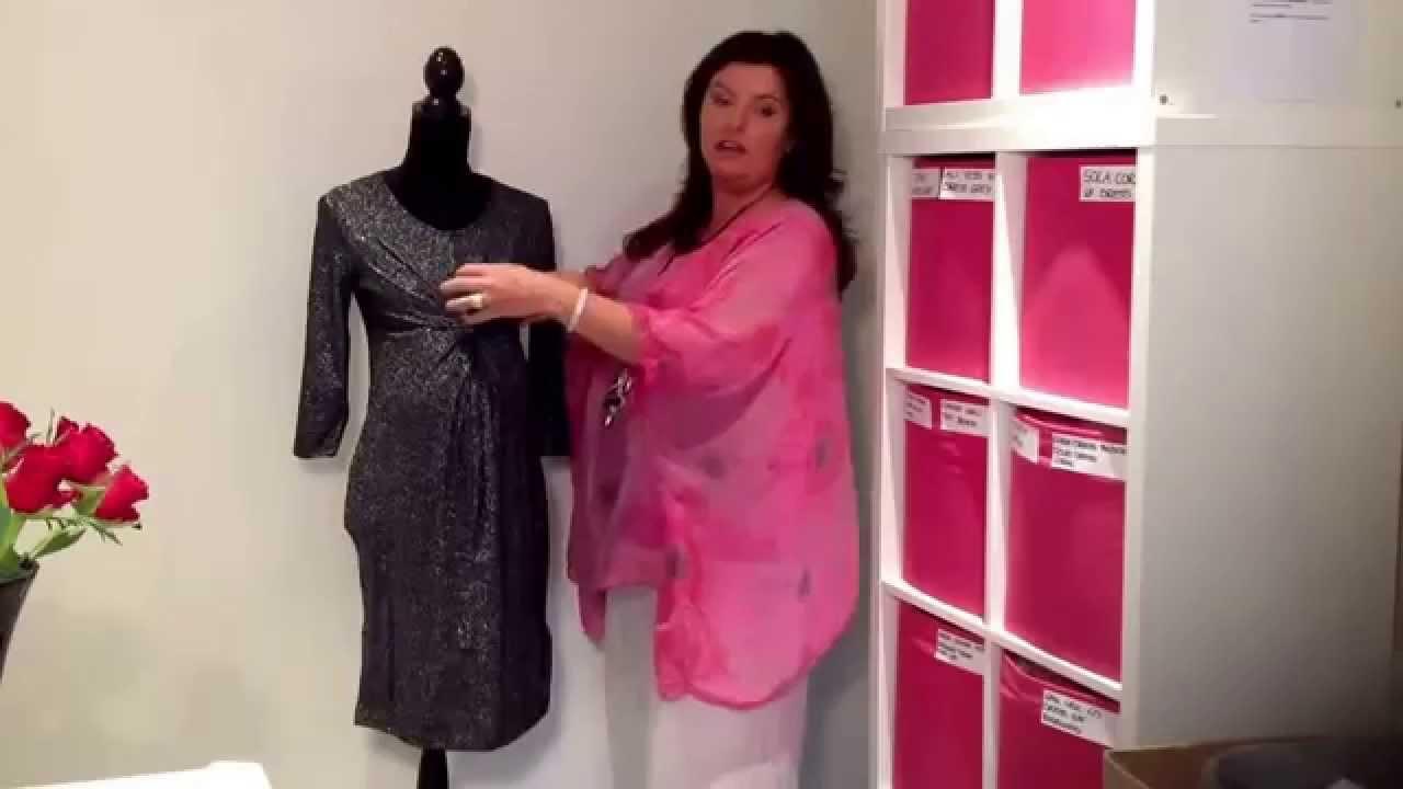 Asti Christmas Party New Year Maternity Dress - YouTube