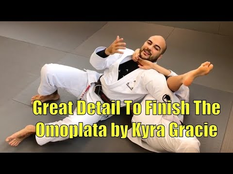 Great Detail To FInish The Omoplata by Kyra Gracie