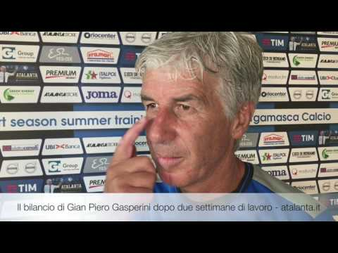 Il bilancio di Gian Piero Gasperini dopo due settimane di ritiro