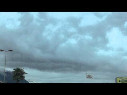 20/04/2014 ciel de Toulon ... nuageux . Météo