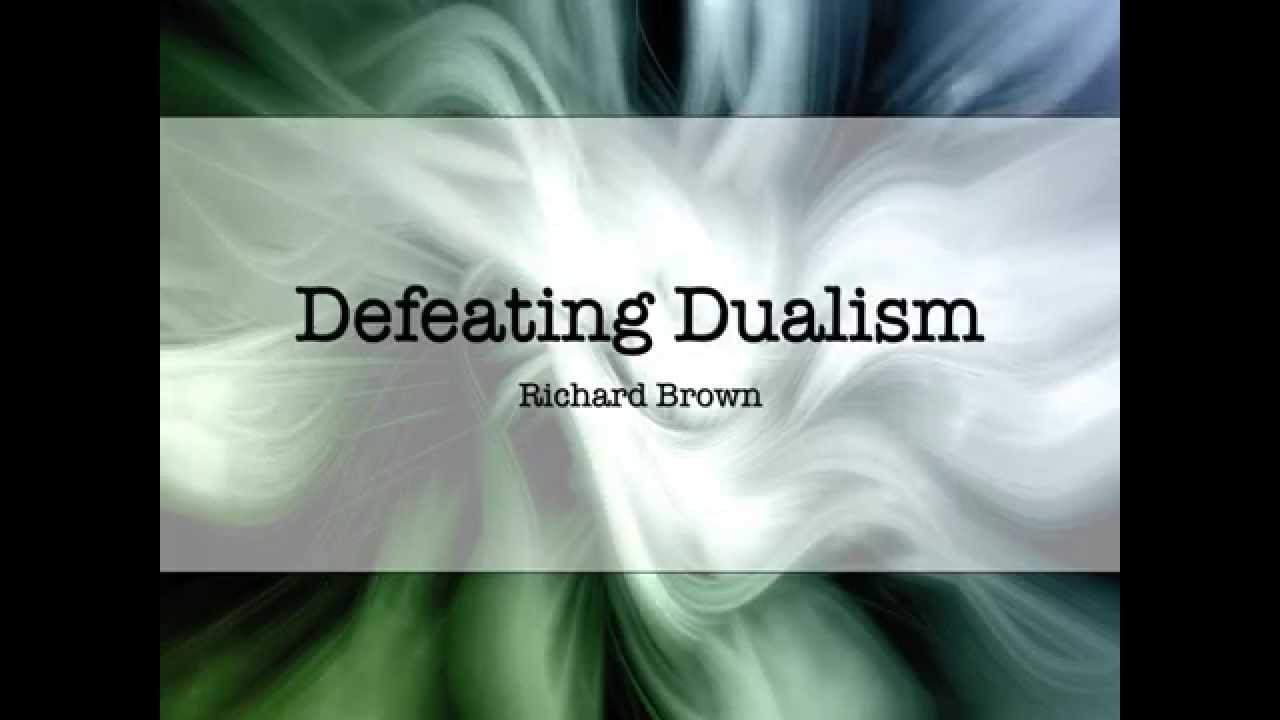 a discussion of dualisms divisibility argument