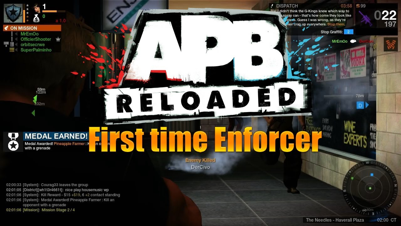 Apb Reloaded First Time Enforcer