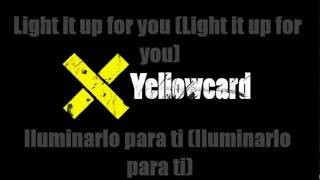 Yellowcard - Light Up The Sky [Lyrics english / Traducida]