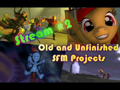 Stream #2 - Old and Unfinished SFM Projects