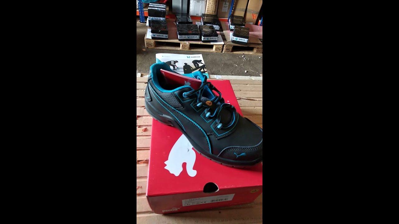 Dámska pracovná obuv PUMA Fuse Niobe S3 ESD recenzia - YouTube d75c4784132
