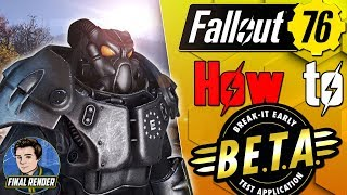 How to Download Fallout 76 Beta + HUGE UPDATE! - All Faction Details!