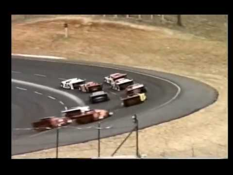 First Asphalt Late Model Race at Lebanon I-44 Speedway 1989