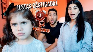 SPEAKING ONLY SPANISH FOR 24 HOURS CHALLENGE!!! *HABLANDO ESPAÑOL*