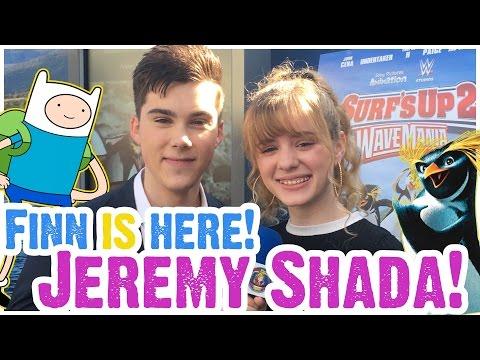 JEREMY SHADA Talks Finn, Adventure Time,  Surf's Up 2, Lance, Trump & Mr. Student Body President