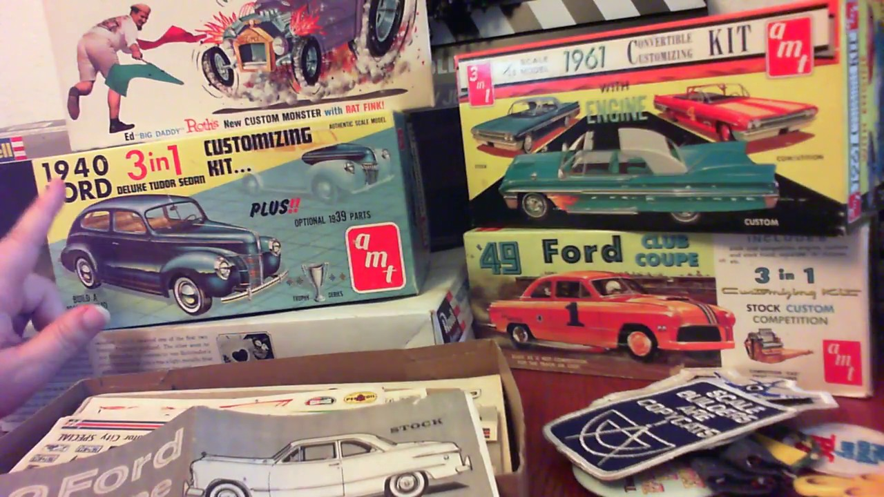 Estate Sale Haul For Ebay Vintage Car Model Kits Youtube