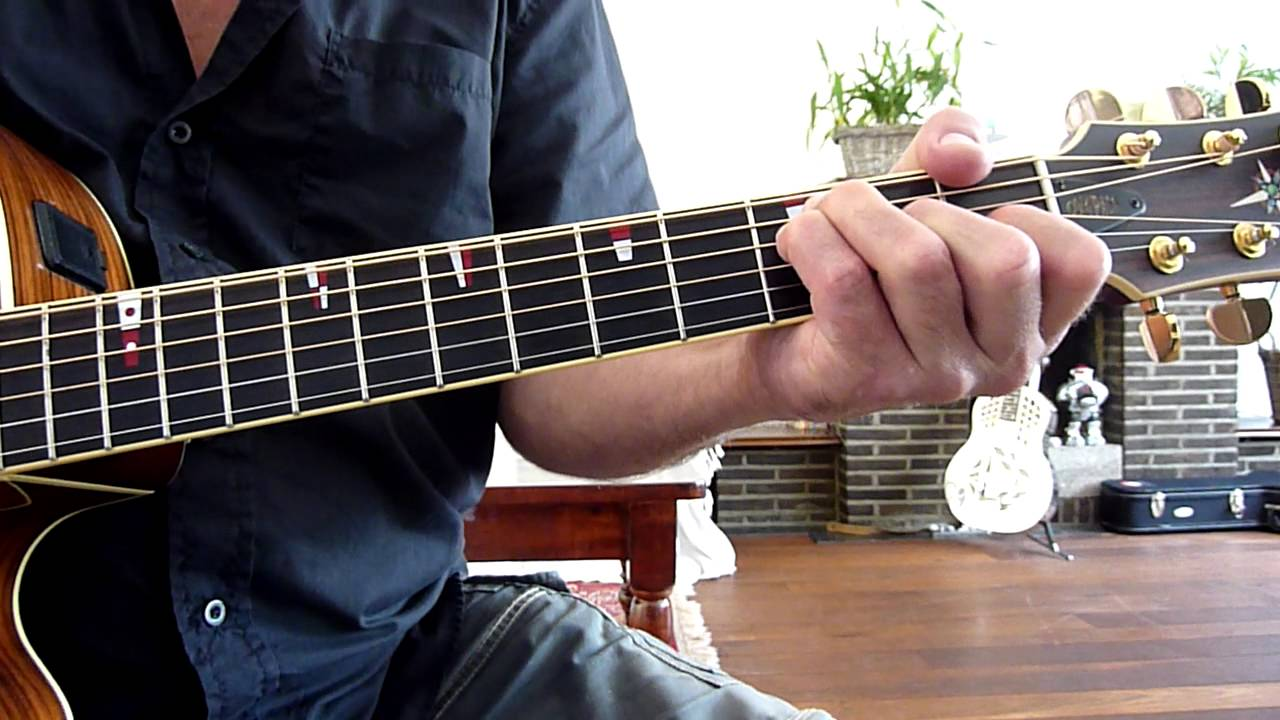 Marc Cohn Walking In Memphis Guitar Lesson Youtube
