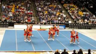 William Byrd Cheerleading 2008