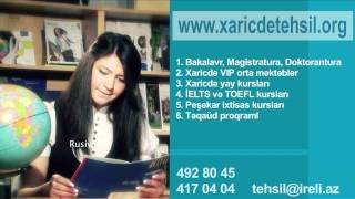 IRELI XARICDE TEHSIL MERKEZI COMMERCIAL VIDEO.mov(, 2011-04-23T15:06:50.000Z)