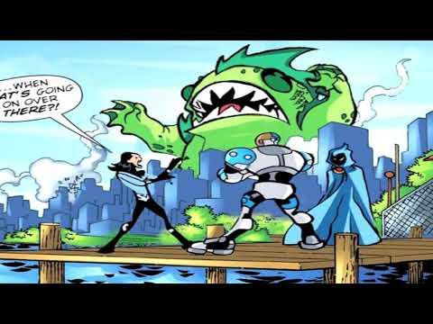 (DC) Teen Titans Go! (2003) Motion Comic Issue 21 - Godzilla Beast Boy