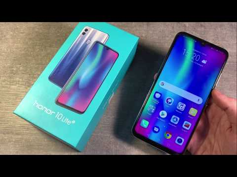 Обзор Honor 10 Lite (HRY-LX1)