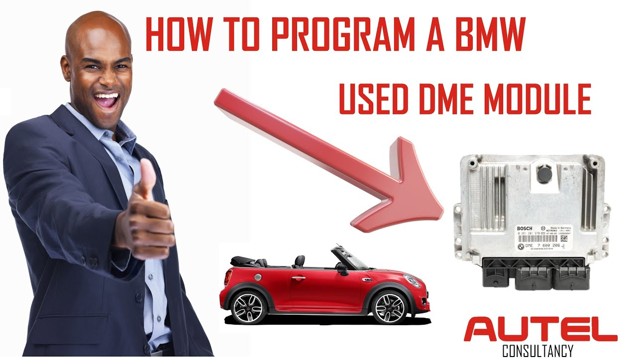 Autel Consultant | How to Program a USED DME Model on a BMW Mini Cooper when Autel Cant | Autel 2020