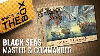 Unboxing: Black Seas - Master & Commander Starter Set