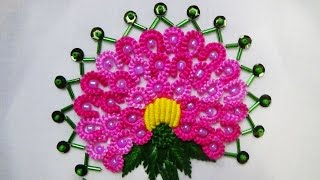 Hand Embroidery: Double Caston Stitch (Brazilian Embroidery)