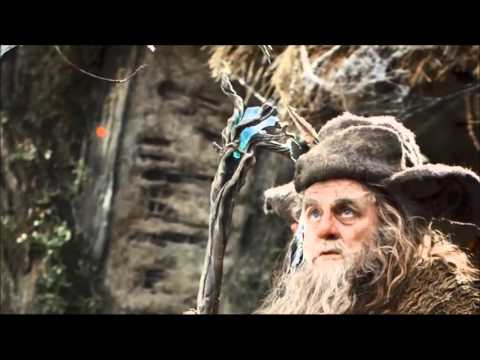 The Hobbit 3 E.E WRONG STAFF OF GANDALF BTS