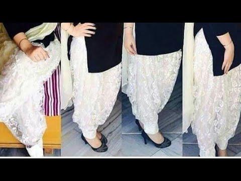 How To Cut And Stitch Patiyala Salwar Step By Step