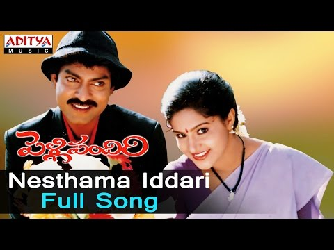 Nesthama Iddari Full Song Ll Pelli Pandiri Songs Ll Jagapathi Babu, Raasi