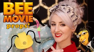 The ASMR Bee Movie Props 🐝  (and how I made them!)