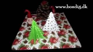 Papir juletræ