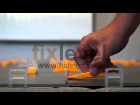 fixlevel tile leveling systems manufacturer youtube. Black Bedroom Furniture Sets. Home Design Ideas